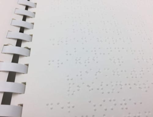 Der kleine Prinz in Blindenschrift