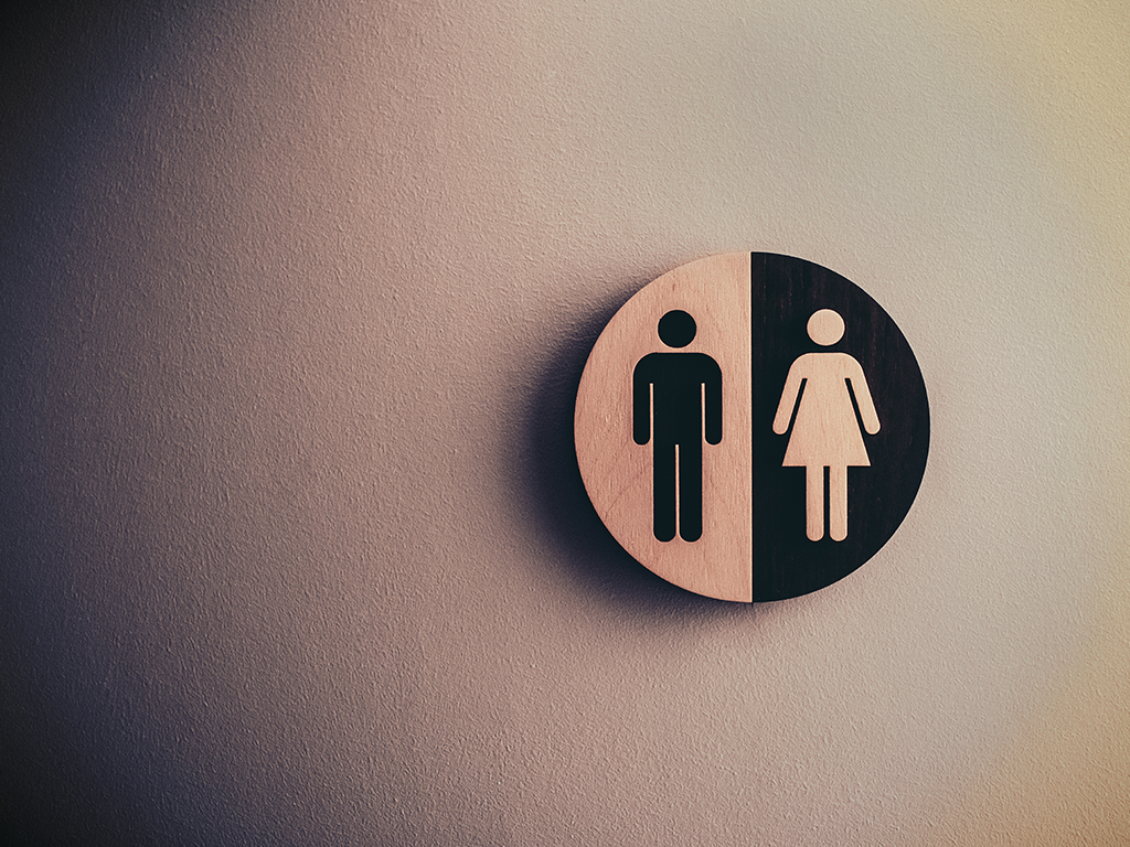 Gender Sign Man and Woman