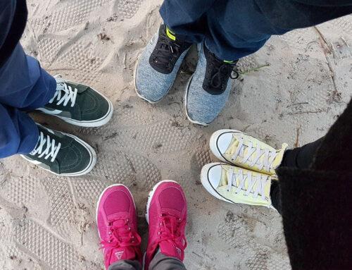 Was kommunizieren deine Schuhe?